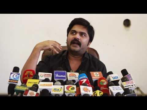 Actor Silambarasan's emotional speech for JALLI KATTU
