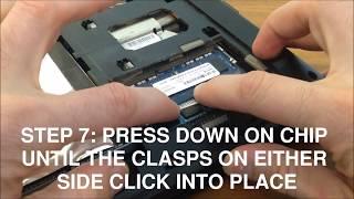 How to BOOST Laptop Speed - DIY Laptop RAM Upgrade (Lenovo G580)