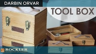 Making a Leather Tool Box | Darbin Orvar Project
