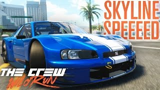 SKYLINE SPEED! | The Crew Wild Run Gameplay