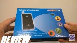 REVIEW: CC303+ Full-Range Anti-Spy Signal Bug Detector
