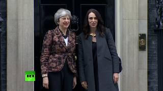 LIVE: New Zealand PM Jacinda Ardern arrives at Downing Street