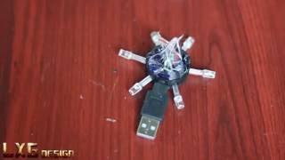 -DIY- USB Led Lamba Nasıl Yapılır ? -How to make a Powerful USB Led Light-