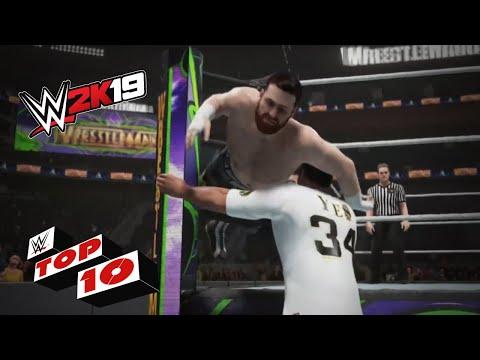 Xxx Mp4 Heart Pounding OMG Moments WWE 2K19 Top 10 3gp Sex