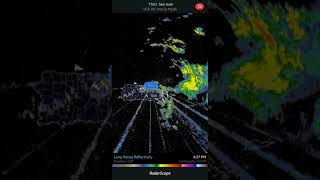 PR/USVI Weather TSJU Radar Doppler Punta Salinas June 19, 2018.