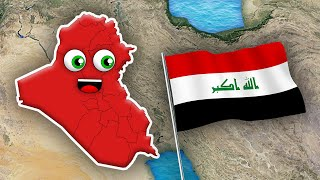 Iraq Geography Song/Iraq Country Music for Kids