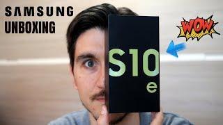 Cosa vedono i miei occhi?! Samsung Galaxy S10e unboxing