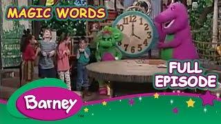 Barney Full Episode  - Magic Words