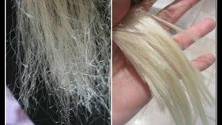 How to repair VERY damaged hair! :)