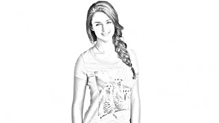 Photoshop CS6 How to Transform PHOTOS into Gorgeous, Pencil DRAWINGS