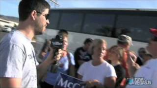 Sarah Palin Rally Leads to Confrontation with Obama Supporters