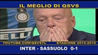 QSVS - I GOL DI INTER-SASSUOLO 0-1  - TELELOMBARDIA / TOP CALCIO 24