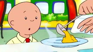 Funny Animated cartoon for Kids | Cartoon Caillou | Caillou eats  | Cartoons for Children