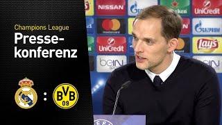 Pressekonferenz nach dem letzten Gruppenspiel | Real Madrid - BVB 2:2