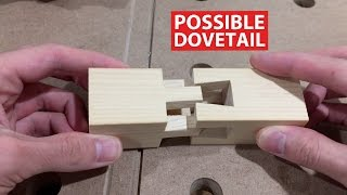 Impossible Dovetail Boiled