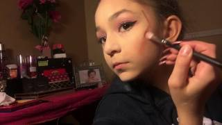 Bella's make up look for Valentine's Day❤️😊 2017