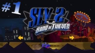 Sly 2 Band of Thieves Walkthrough - Intro & Part 1 w/ Live Commentary - The Missing Clockwerk Parts