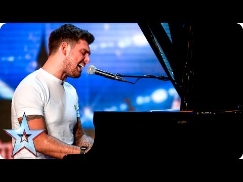 Josh Curnow puts his own spin on Green Day classic | Auditions Week 6 | Britain's Got Talent 2016