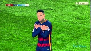 Neymar Chip Goal vs Celta Vigo
