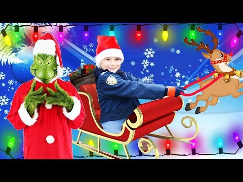 Christmas Holiday Compilation video featuring Grinch and Elf