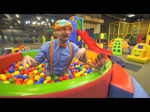 Xxx Mp4 Blippi Learns At The Indoor Playground Educational Videos For Toddlers 3gp Sex