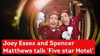 Joey and Spencer talk alien abductions and getting to grips with the Essex lingo