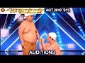 Yumbo Dump Make  HILARIOUS  Sounds Using Their Bodies America's Got Talent 2018 Auditions AGT