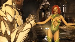 Injustice 2 - Cyborg vs Poison Ivy (Story Battle 35) [HD]