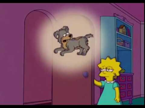 Simpsons dog