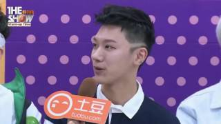 [Vietsub] NCT U The Show Warm Up interview Tudou