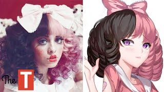 10 Celebs Reimagined As ANIME CHARACTERS