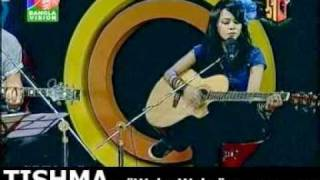 Bangla Rock Princess Hot Song LiVe  : WaKa WaKa : sung by TisHMa
