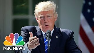 President Donald Trump, Greek PM Alexis Tsipras Hold White House Press Conference   NBC News