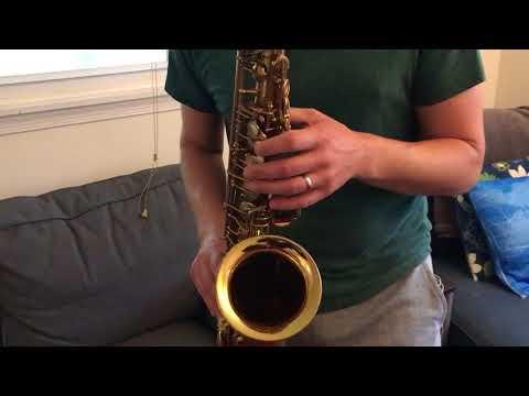 Xxx Mp4 142 Xxx Selmer Mark VI Alto Saxophone Demo DC Sax 3gp Sex