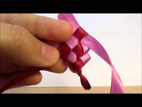 Плетем атласных лент своими руками