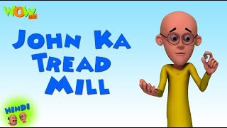 John Ka Tread Mill - Motu Patlu in Hindi - 3D Animation Cartoon - As on Nickelodeon