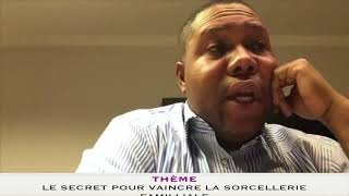"""Prophète Joël Krasso """"Le secret pour vaincre la sorcellerie familliale"""" SAMEDI 16 JUIN 2018"""