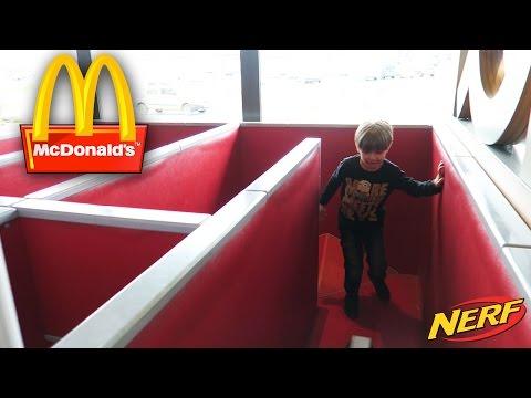 Having Fun at McDonald s Gym