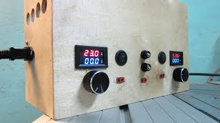 Making a Laboratory Power Supply (25 Amps)