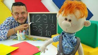 ¡Aprende los números con Josep y Pecas! Vídeos para niños.