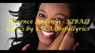 Florence Andenyi - KIBALI lyrics