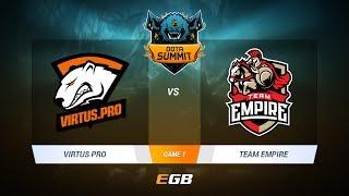 Virtus.Pro vs Team Empire, Game 1, DOTA Summit 7 LAN-Final, Day 1