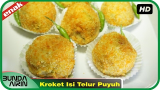 Cara Membuat Kroket Telur Puyuh Resep Jajanan Indonesia Recipes Indonesia Bunda Airini
