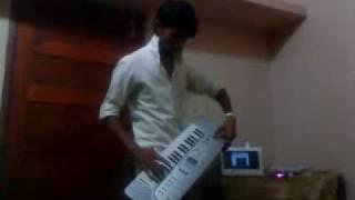 tera hone laga hoon on piano by shamzeer .MP4