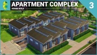 The Sims 4 House Building - Apartment Complex (Part 3)