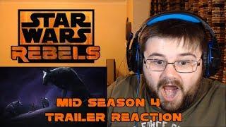 Star Wars Rebels - Mid-Season 4 Trailer - Reaction
