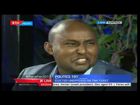 JKL Politics 101 The Race to 2017 ; Junet Mohamed and Moses Kuria 28 09 2016 Part 1