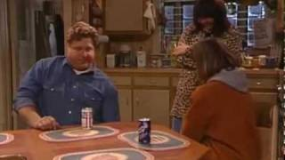 Roseanne Hits Dan With Frying Pan Montage