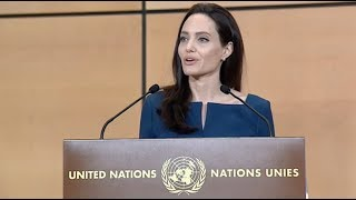 Angelina Jolie in defense of internationalism - Sergio Vieira de Mello Lecture 2017