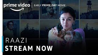 Raazi | Alia Bhatt, Vicky Kaushal | Bollywood Movie | Stream Now | Amazon Prime Video